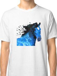 Abstract horse of geometric shape, symbol 2014 Classic T-Shirt