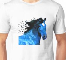 Abstract horse of geometric shape, symbol 2014 Unisex T-Shirt