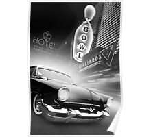 Cruise Night Bowling Poster
