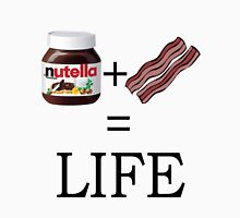 Nutella + Bacon = Life Unisex T-Shirt