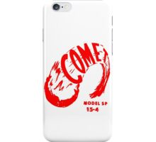 Comet (red) iPhone Case/Skin