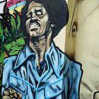 James Brown Graffiti by Jeremy   Trickett.