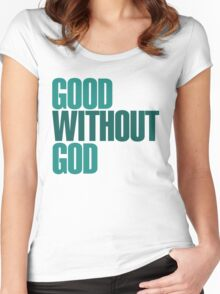 God without God Women's Fitted Scoop T-Shirt