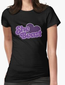 She Beast Womens Fitted T-Shirt