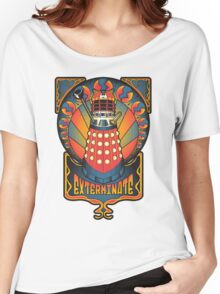 Dalek Nouveau Women's Relaxed Fit T-Shirt