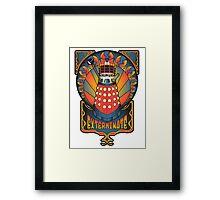 Dalek Nouveau Framed Print
