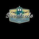 TIMELORDS TIME TRAVEL AGENCY  by karmadesigner