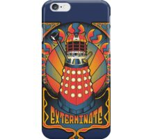 Dalek Nouveau iPhone Case/Skin