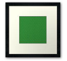 Irish Celtic Shamrocks Framed Print