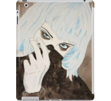 Alice Glass Watercolour iPad Case/Skin