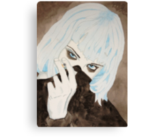 Alice Glass Watercolour Canvas Print