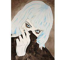 Alice Glass Watercolour Photographic Print