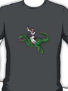 Jesus Riding a Dinosaur T-Shirt