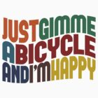 Gimme A Bicycle by Wordy Type