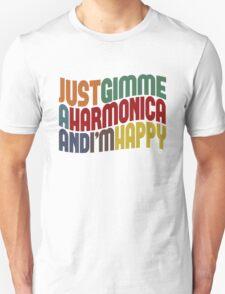 Gimme A Harmonica Unisex T-Shirt