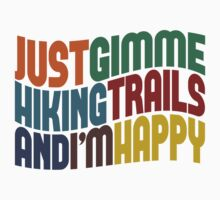 Gimme Hiking Trails Baby Tee