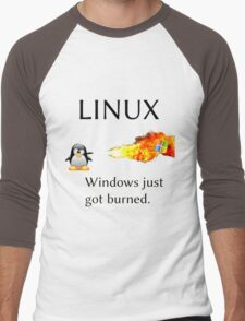 Windows Might Need Some Ice Men's Baseball ¾ T-Shirt