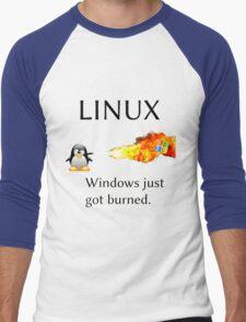 Windows Might Need Some Ice Men's Baseball ¾ T-Shirt
