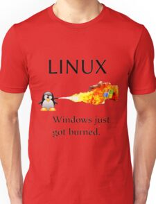 Windows Might Need Some Ice Unisex T-Shirt