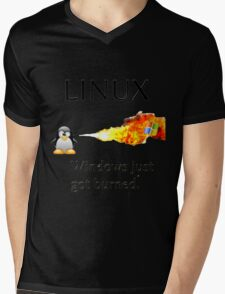 Windows Might Need Some Ice Mens V-Neck T-Shirt