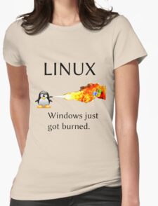 Windows Might Need Some Ice Womens Fitted T-Shirt