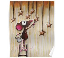 Painting Stars Poster