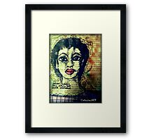 True Beauty is SOUL-Deep Framed Print
