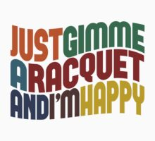 Gimme A Racquet by Wordy Type