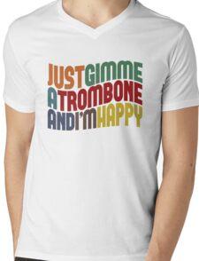 Gimme A Trombone Mens V-Neck T-Shirt