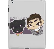 Alfie and Nala Cartoon  iPad Case/Skin
