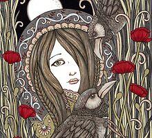 Huginn & Muninn by Anita Inverarity
