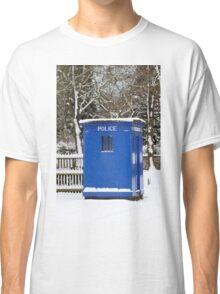 Police phone box Classic T-Shirt