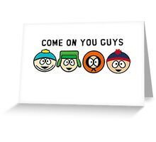 Southpark Greeting Card