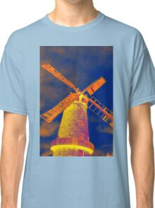 Psychedelic windmill Classic T-Shirt