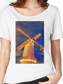 Psychedelic windmill Women's Relaxed Fit T-Shirt