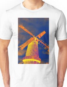 Psychedelic windmill Unisex T-Shirt