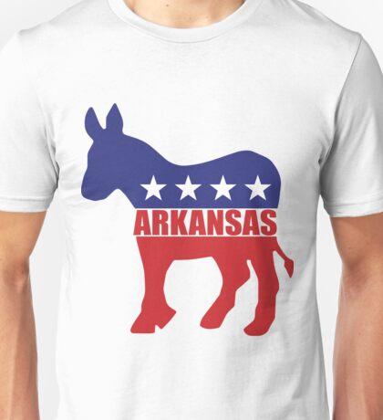 Arkansas Democrat State Donkey  Unisex T-Shirt