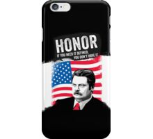 RON SWANSON Quote#5 iPhone Case/Skin