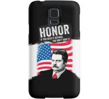 RON SWANSON Quote#5 Samsung Galaxy Case/Skin