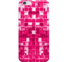 Abstract Pink Squares iPhone Case/Skin