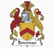 Bowman Coat of Arms / Bowman Family Crest by William Martin