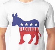 Florida Democrat State Donkey  Unisex T-Shirt