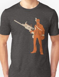 Sniper - Minimalistic TF2 Classes T-Shirt