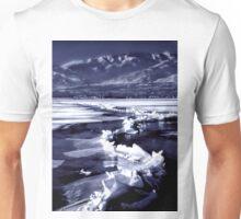 Winter at the Great Salt Lake  Unisex T-Shirt