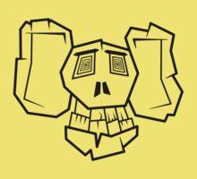 Bone Face Baby Tee