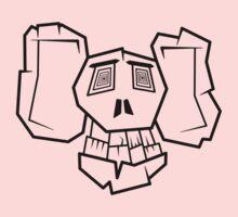 Bone Face One Piece - Long Sleeve