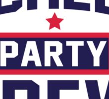 Bachelor Party Crew Sticker