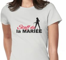 Staff de la Mariée Womens Fitted T-Shirt