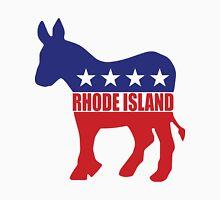 Rhode Island Democrat Donkey Unisex T-Shirt