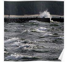 Restless sea. II Poster